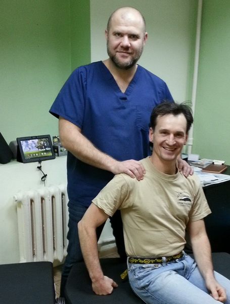 Известный российский спелеолог и альпинист Денис Провалов.
